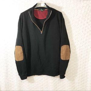 Woolrich Qtr Zip Men's Sweatshirt -Size L